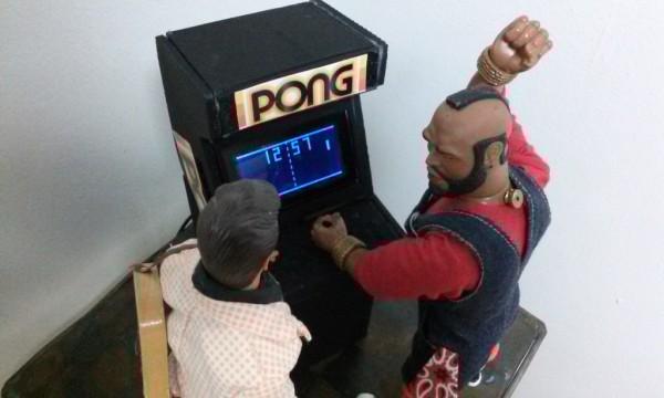 MONOCHRON arcade cabinet case