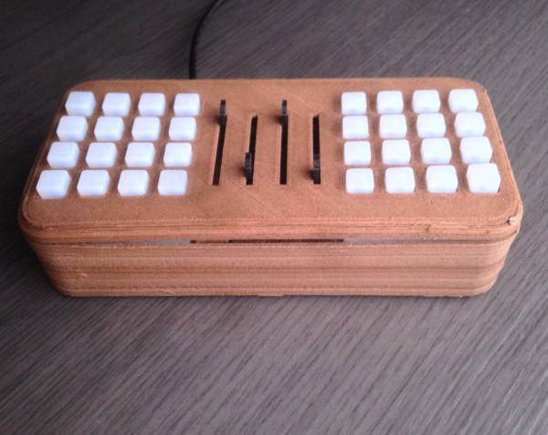 Midui - open source MIDI pad