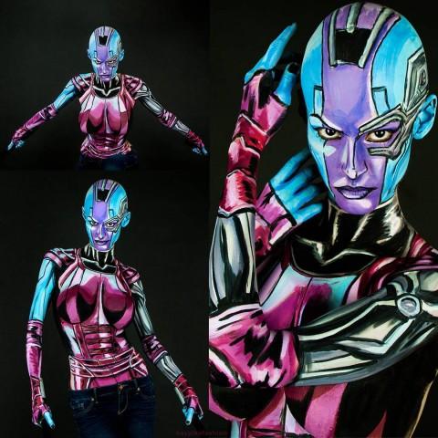 Nebula body paint