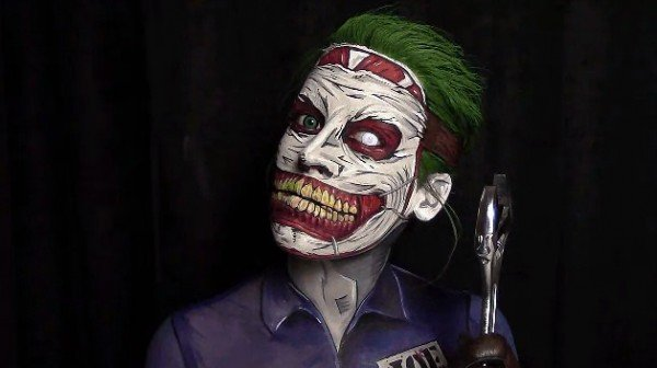 New 52 Joker makeup