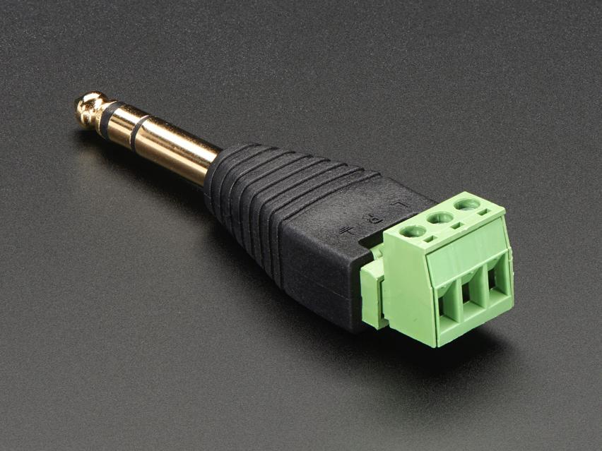 New Products  U2013 Terminal Blocks  U2013 1  4 U2033  6 35mm  Stereo Plug