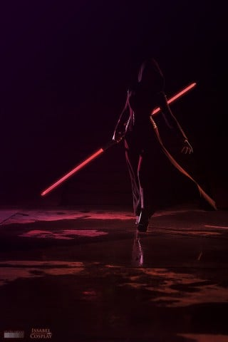 Star Wars Sith cosplay 2