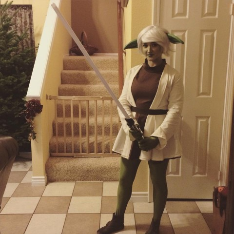 Yoda cosplay 1