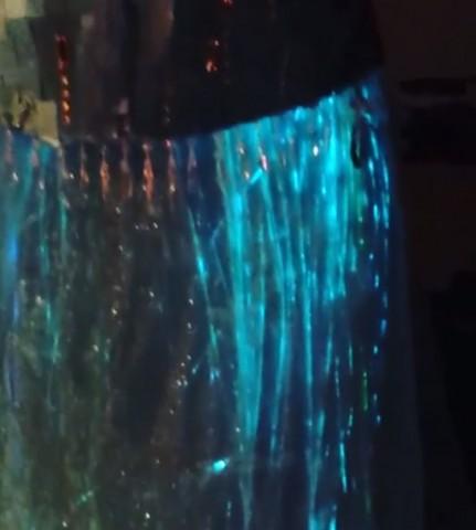 glowing elsa dress 5