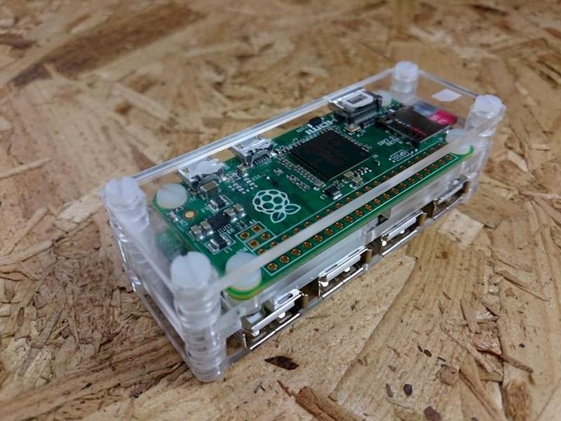 Raspberry Pi Zero Usb Hub Mod With Case Raspberry Pi