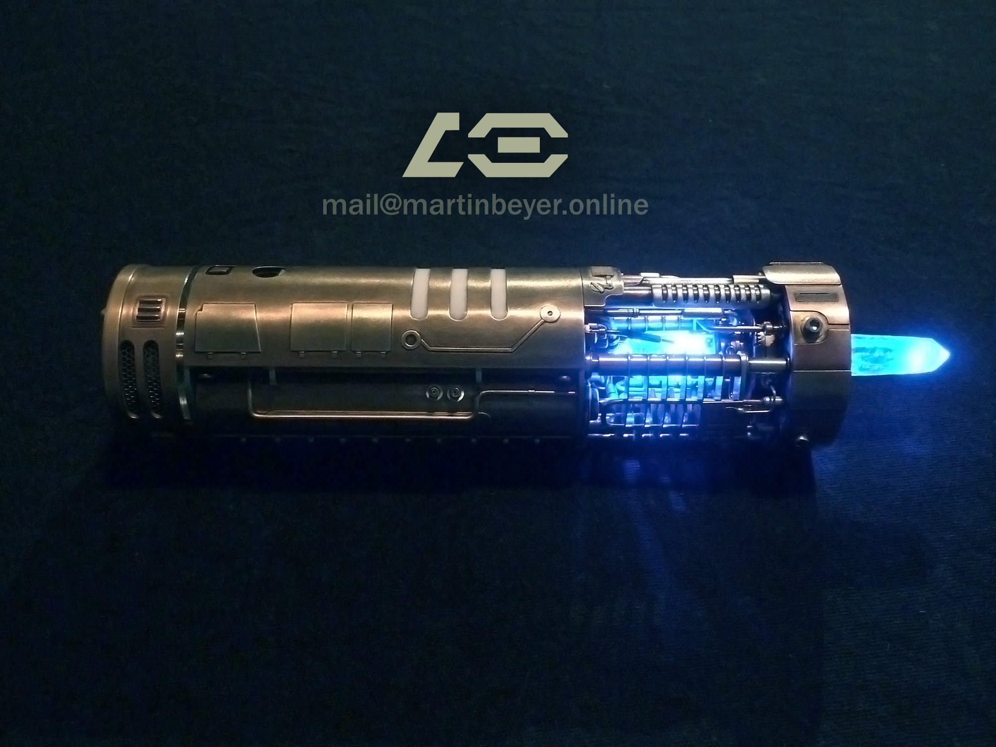 Lightsaber Replica With Glowing Crystal Adafruit Industries Wiring Diagram For Soundboard Makers Hackers Artists Designers And Engineers