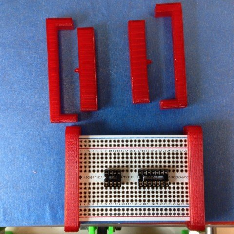 Adafruit Protoboard bracket