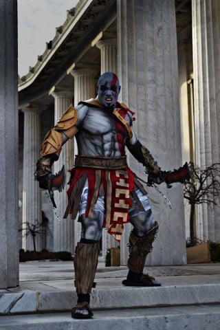 Kratos cosplay 1