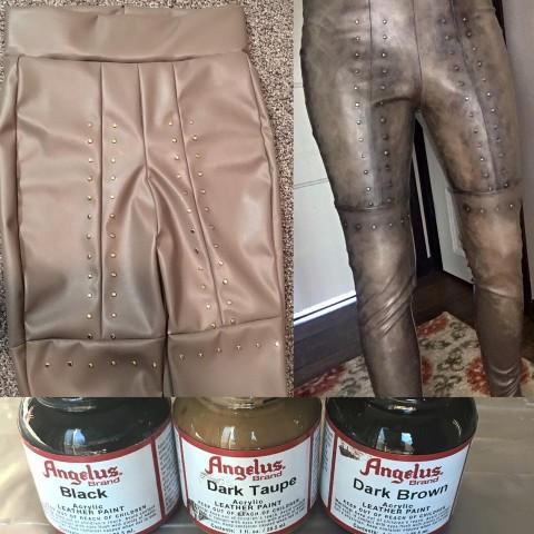 Leather paint