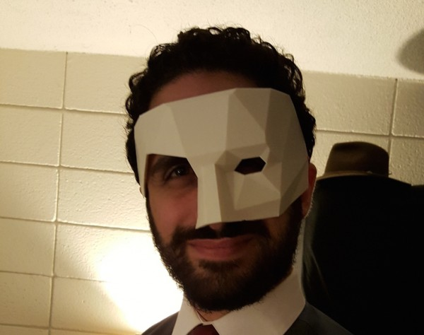 Low Poly Masquerade Phantom Mask