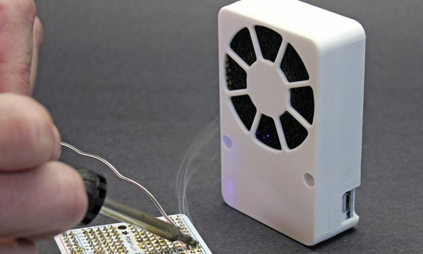 Mini Solder Fume Extractor