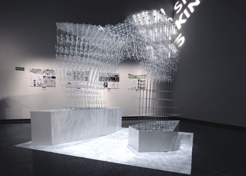 Tokyo students create drawn in place architecture with for Printing architectural plans