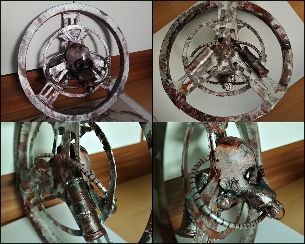 mad max fury road nux cosplay steering wheel prop adafruit industries makers hackers. Black Bedroom Furniture Sets. Home Design Ideas