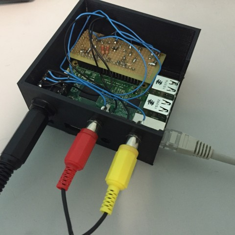 Raspberry pi2 case box custom external modules