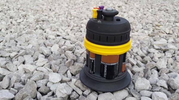 Steampunk Multi-Voltage Battery Jar