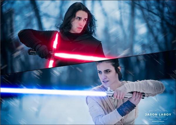 The Force Awaken cosplay 1