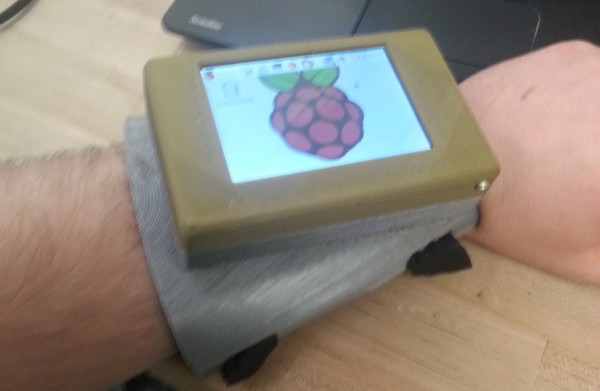 Wrist mounted Touch Pi