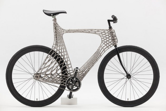 Arc bicycle students tu delft 3d printed stainless steel netherlands dezeen 936 13 630x420 1