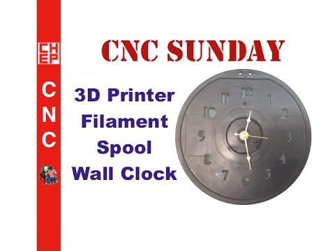 Clock Made From D Printer Filam on Sensors Iot