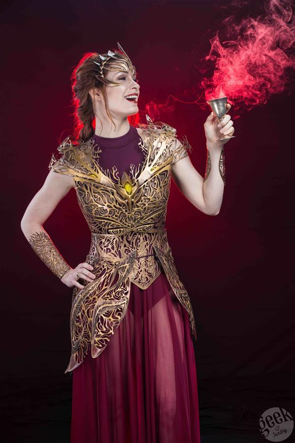 felicia-day-models-3d-printed-dream-regalia-armor-melissa-ng-fantasy-photoshoot8