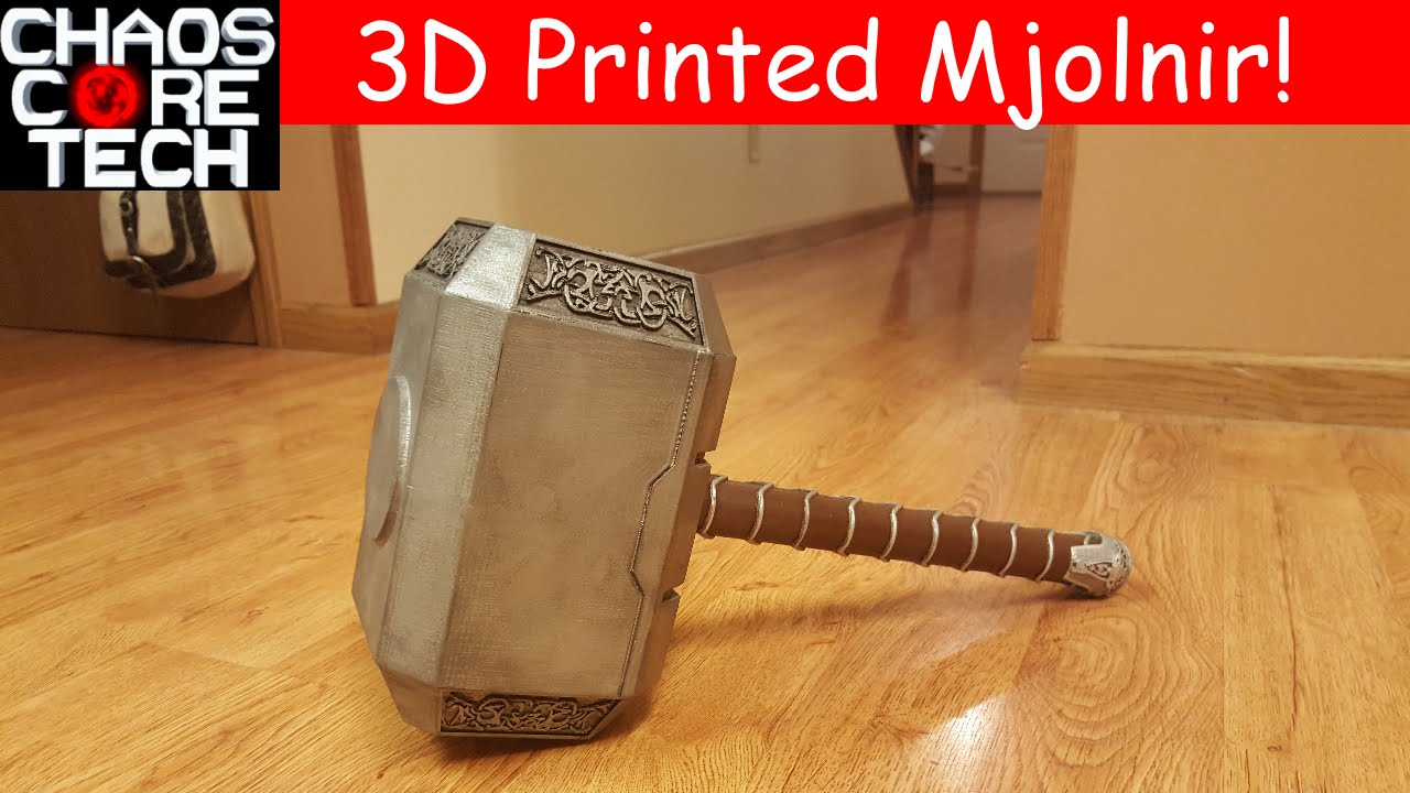Cables And Sensors >> Life Size Thor's Hammer (Mjolnir) « Adafruit Industries – Makers, hackers, artists, designers ...
