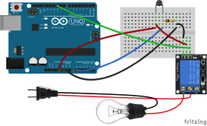 Arduino Temperature Dependent Light Bulb With 5V Relay 2