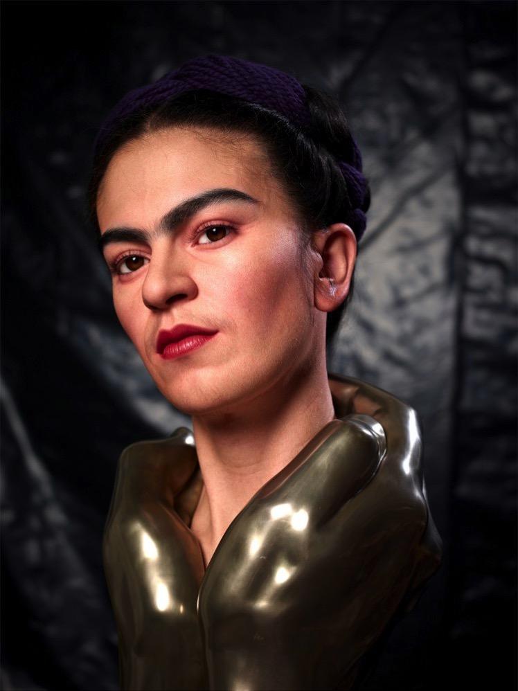 Kazuhiro Tsuji Frida Kahlo sculpture 7