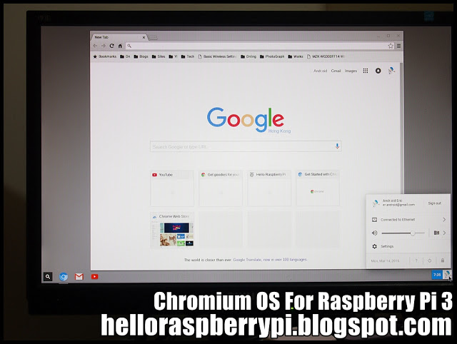 How to Install and Run Chromium OS on Raspberry Pi 3 #piday #Pi3 #raspberrypi @Raspberry_Pi