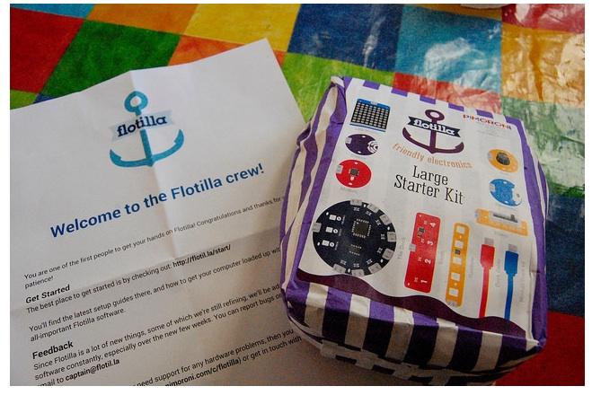 Pimoroni Flotilla first impressions Blog My Wiki