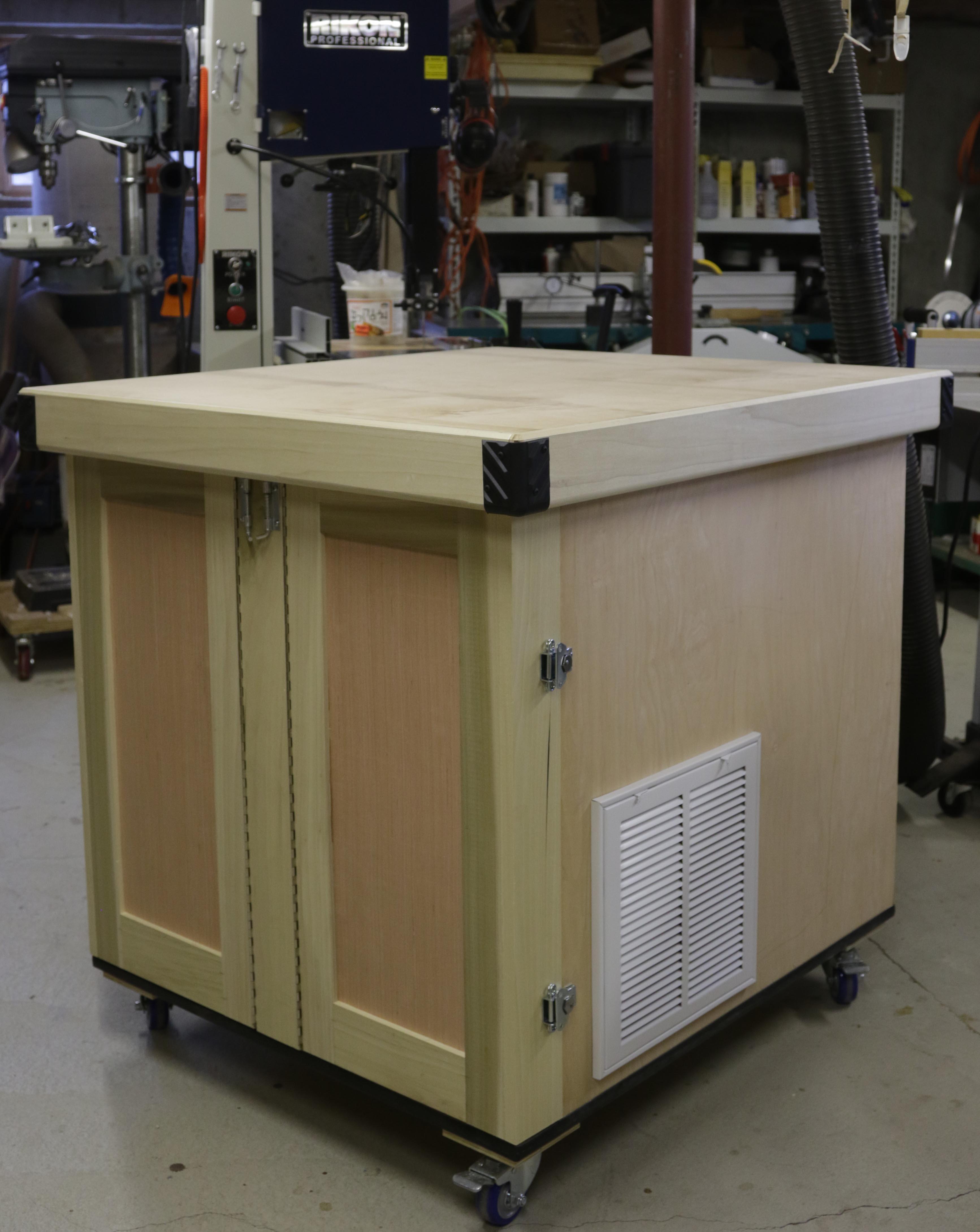 CNC Build Part 0: The Base « Adafruit Industries – Makers, hackers ...