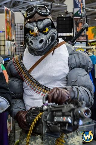 Rocksteady cosplay 1