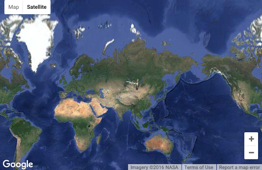 Satellite Tracker and Interactive Map How to Spot the Space Station More