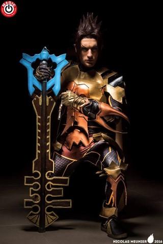 Terra Kingdom Hearts cosplay