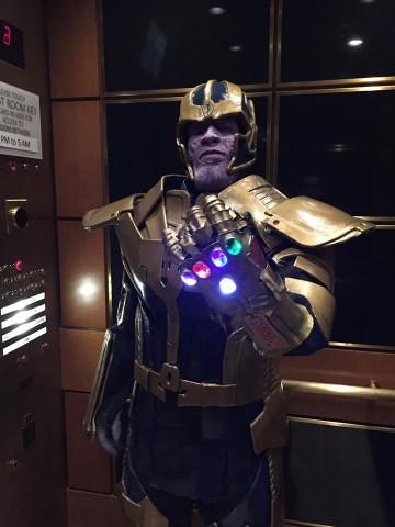 Thanos cosplay 1
