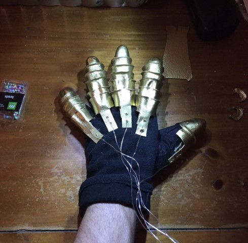 Thanos cosplay 3