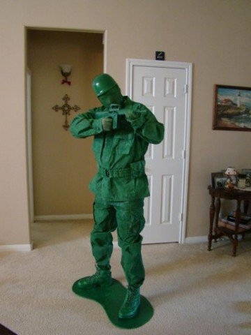 green army man cosplay 1