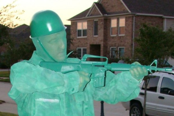 green army man cosplay 3