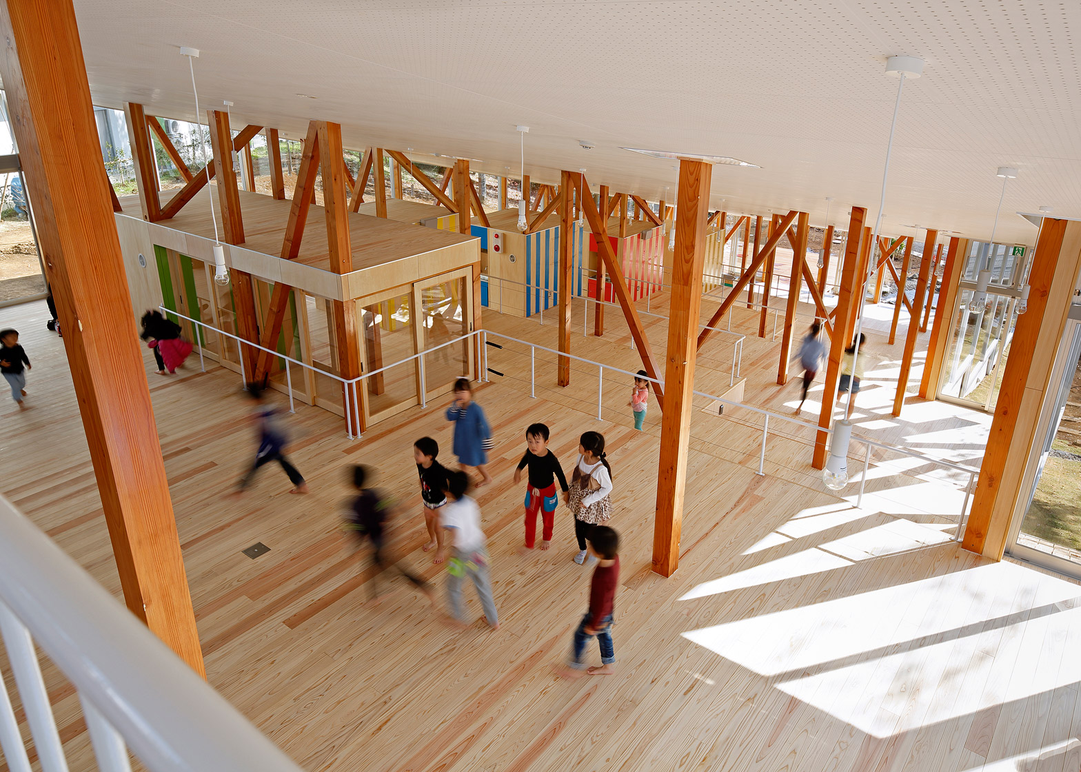 Hakusui nursery school yamazaki kentaro design workshop dezeen 1568 2
