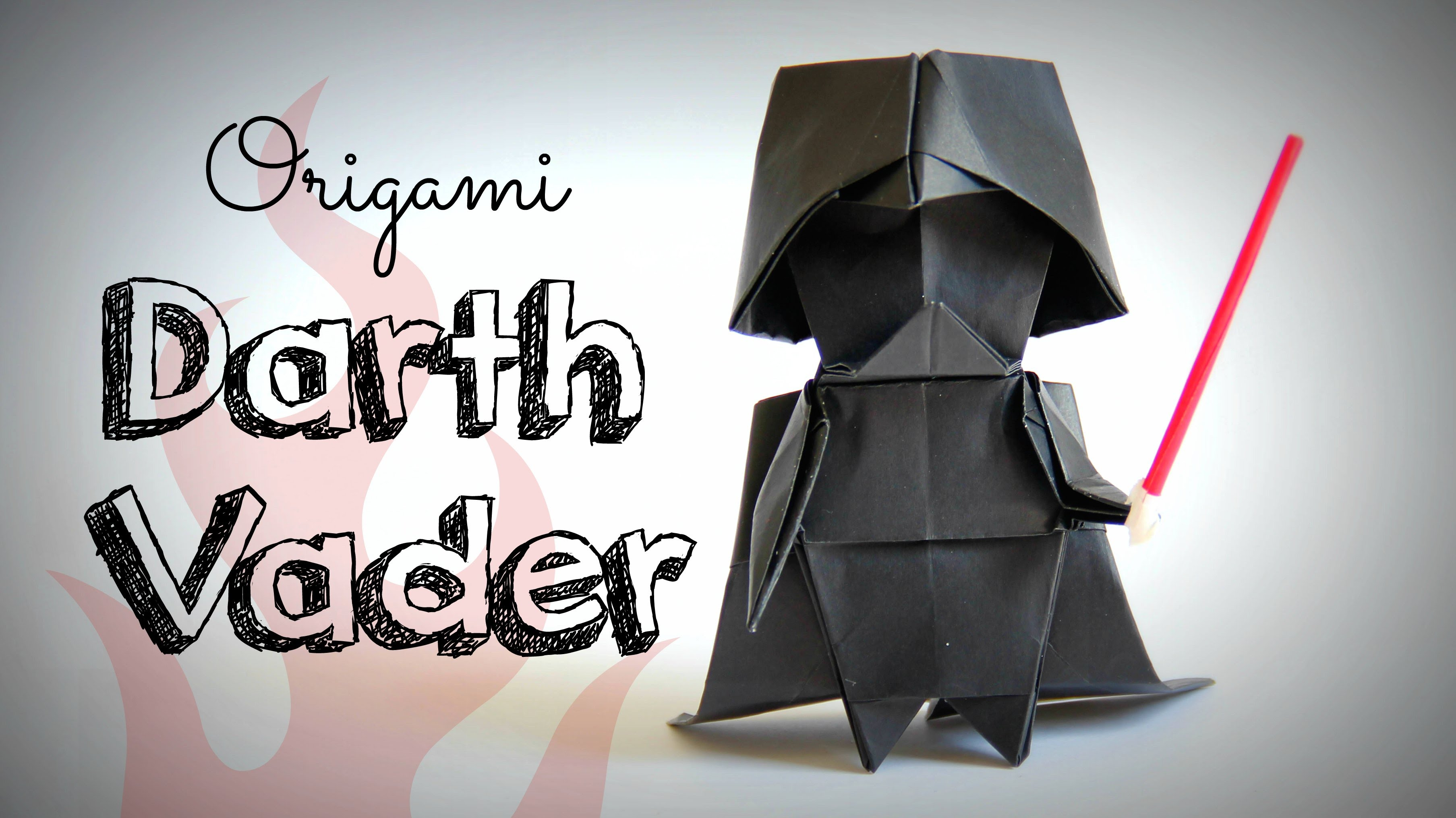How to Make Origami Darth Vader « Adafruit Industries ... - photo#26