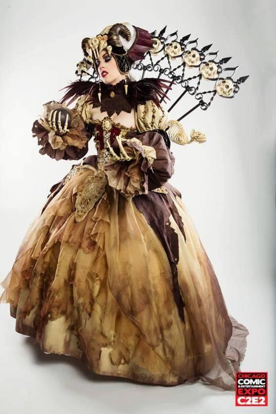 award winning fantasy of the dream necromancer cosplay