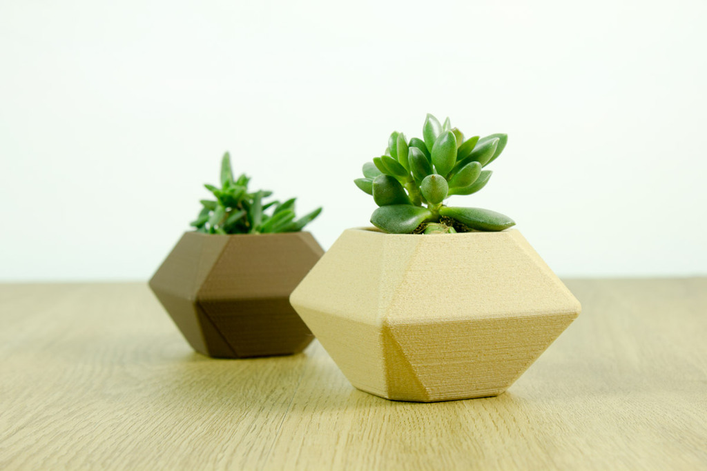 lowpoly planter