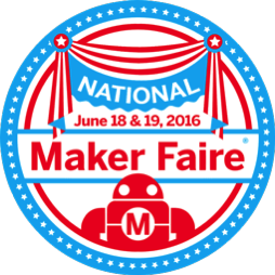 National maker faire badge