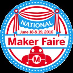 National maker faire badge