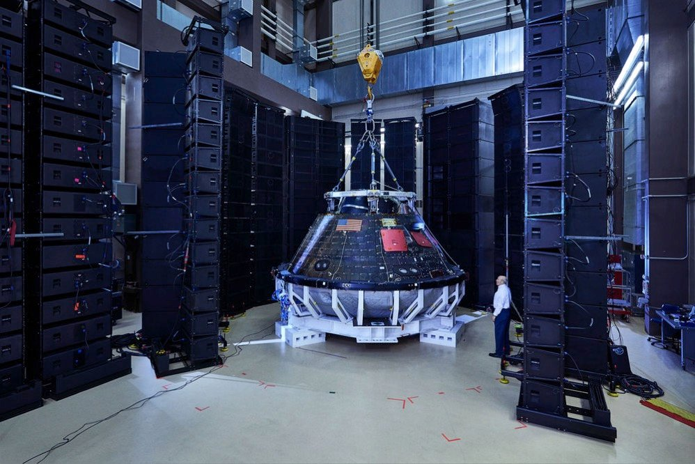 Orion acoustic test spencer lowell