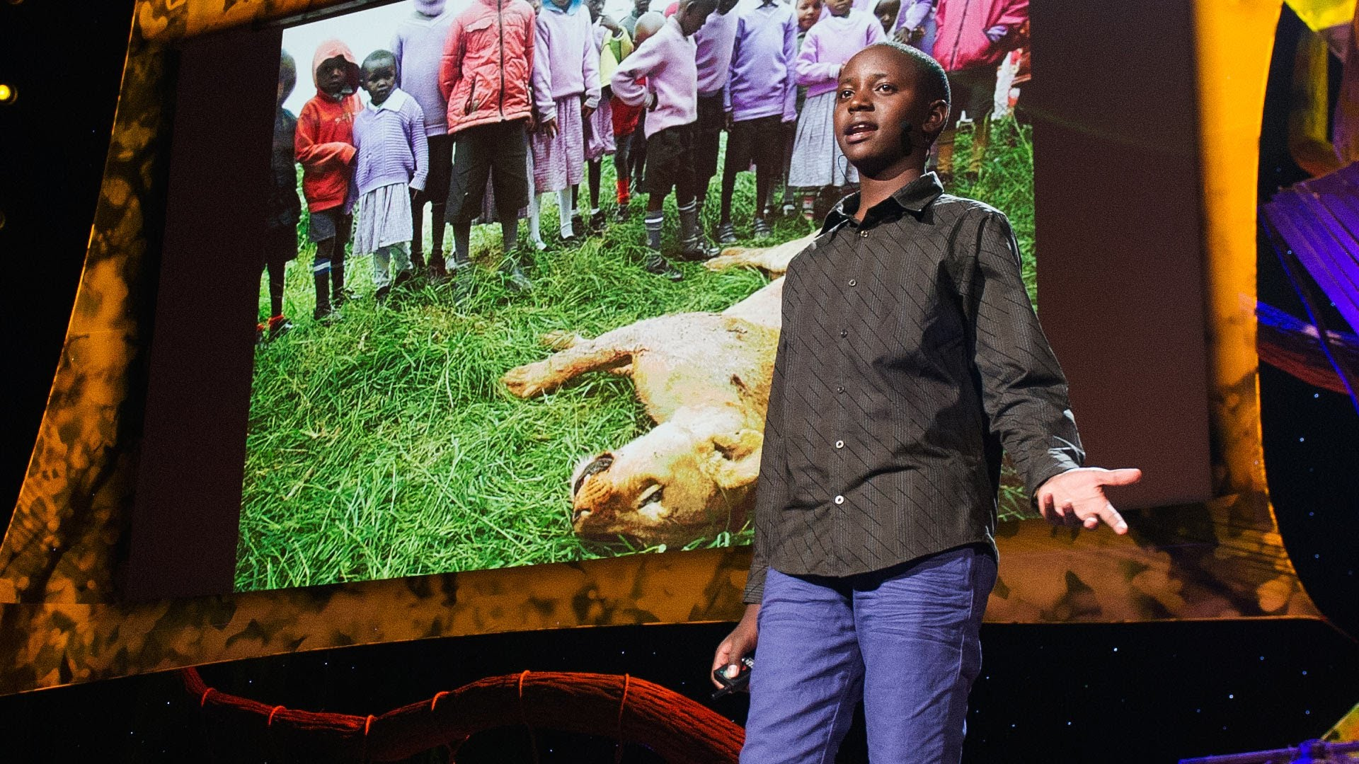 Richard Turere My Invention That Made Peace With Lions