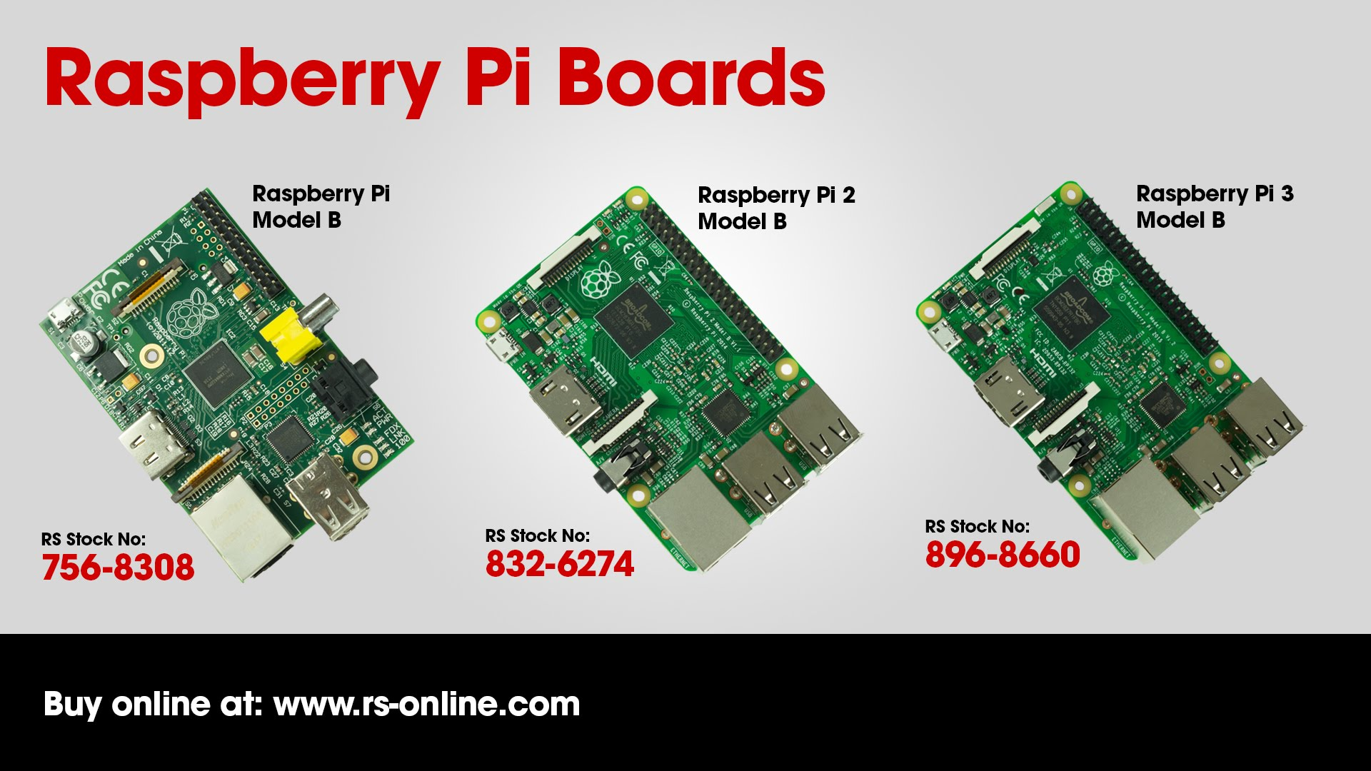 Rs Components Compares Raspberry Pi 2 And Raspberry Pi 3
