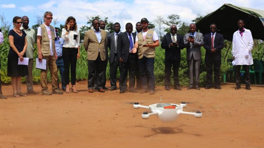 Unicef malawi drone pilot