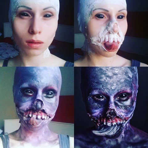 witcher botchling makeup 2