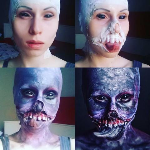 witcher botchling makeup 2