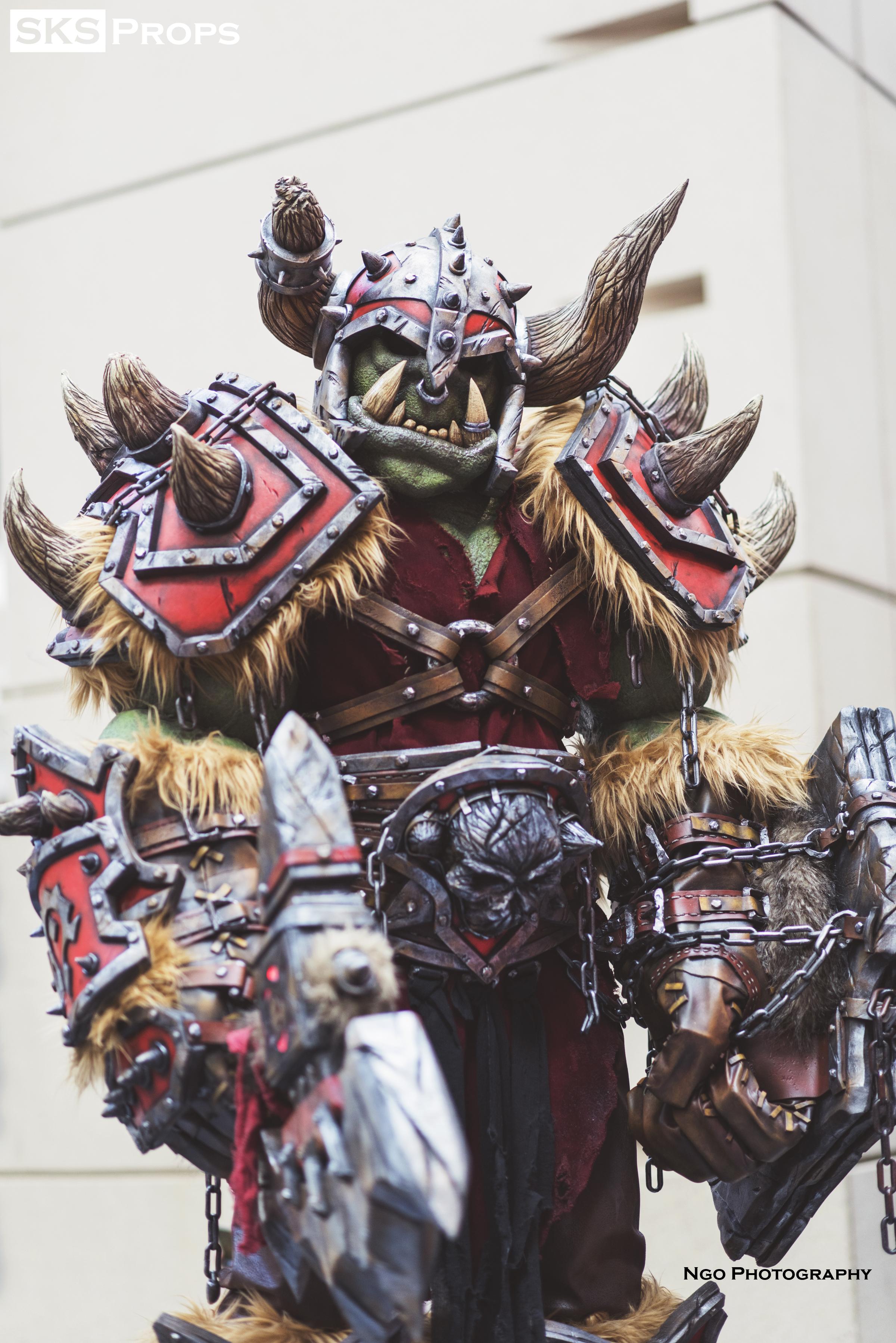 costume warcraft orc World of